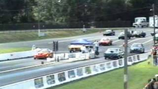 Drag Racing at Cecil County with my 67 GTO