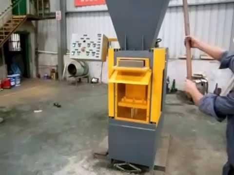 World's fastest high pressure brick making machine - TITAN 80 PPSH.