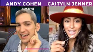 ANDY COHEN ASKS CAITYLN JENNER ABOUT RHOBH
