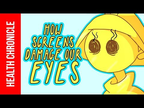 How Phone Screens Damage Our Eyes (And HOW TO BE SAFE)