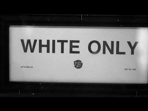 39 white only 39 sign on pool in ohio youtube for Black and white only