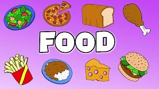 Learn Food Vocabulary | Talking Flashcards
