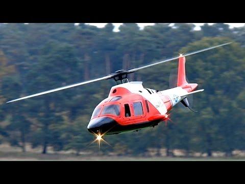 Agusta A 109 K Coast Guard Rc Scale Electric Model