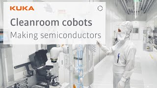 KUKA Cobots at Infineon: The new way of producing semiconductors in cleanroom environments