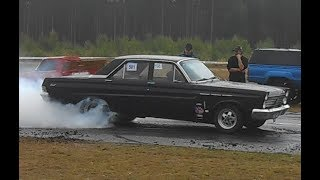 '66 Mercury Comet Burnout
