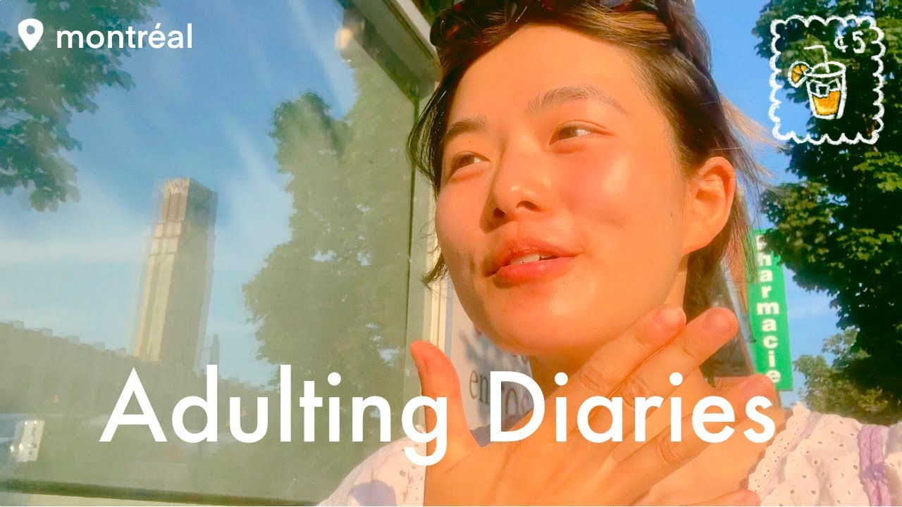 a fun summer week✨ picnics, haircuts, cooking at home, follow me around the city | Adulting Diaries