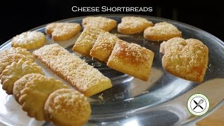 Cheese Shortbreads – Bruno Albouze – THE REAL DEAL