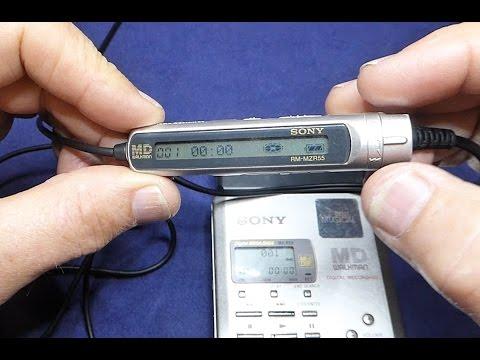 Sony MD Walkman MZ-R55 MiniDisc RECORDER