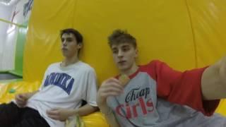 24 часа челлендж ночь в закрытой батутной арене 24 hour trampoline park