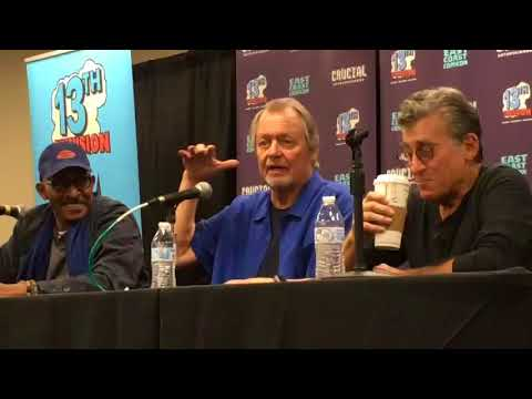The Starsky and Hutch boys field questions from fans