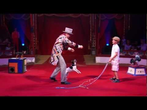 "Leonid Beljakovs ""Comedy Dog Show""  in Roncalli circus."