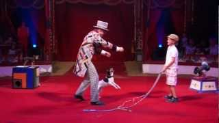 Leonid Beljakovs 'Comedy Dog Show'  in Roncalli circus.