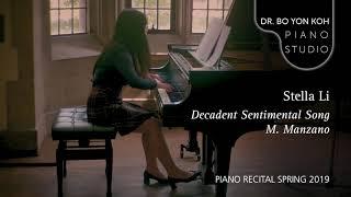 Decadent Sentimental Song