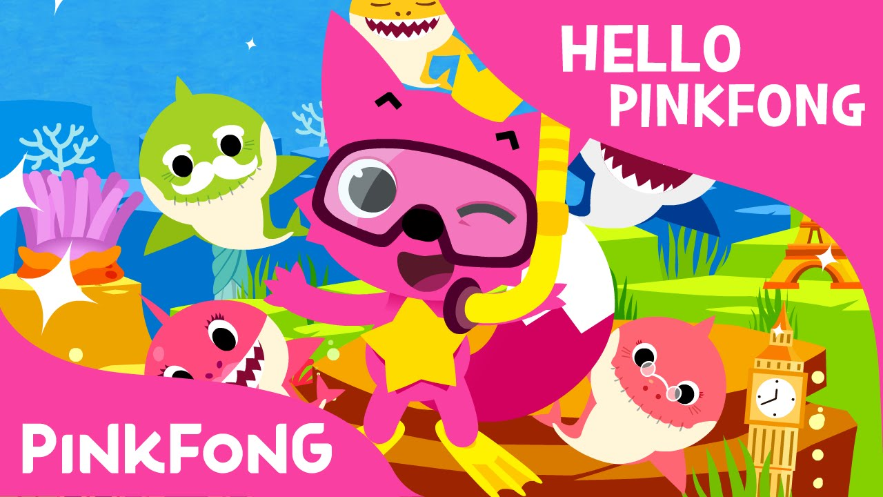 Hello Pinkfong Flags Song Animal Songs Pinkfong