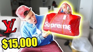 Video MEXICAN HYPEBEAST BUYS $15,000 LOUIS VUITTON SUPREME BAG FROM IOFFER (SUPREME UNBOXING) download MP3, 3GP, MP4, WEBM, AVI, FLV Juli 2018