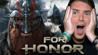 HO PROVATO FOR HONOR!! - VICHINGHI vs SAMURAI - For Honor GAMEPLAY ITA