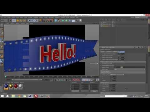 Ribbon Generator for Cinema 4D