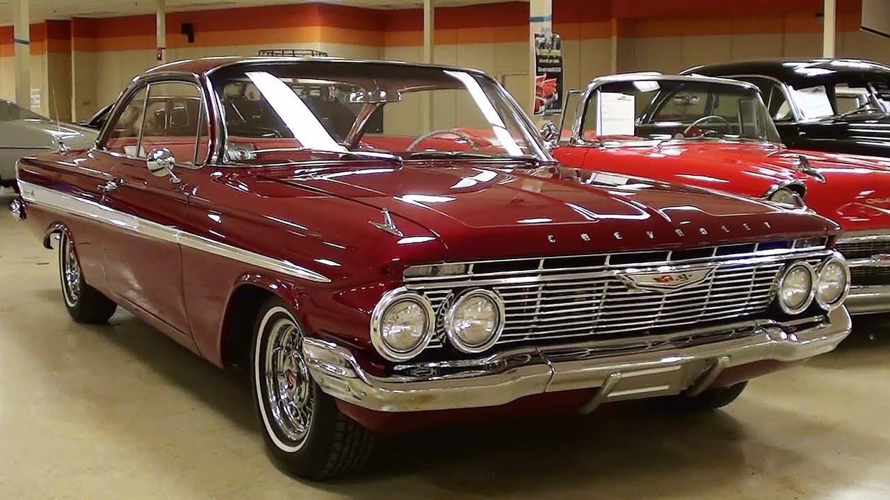 1961 Chevrolet Impala 409 V8 Four-sd bubble top - YouTube