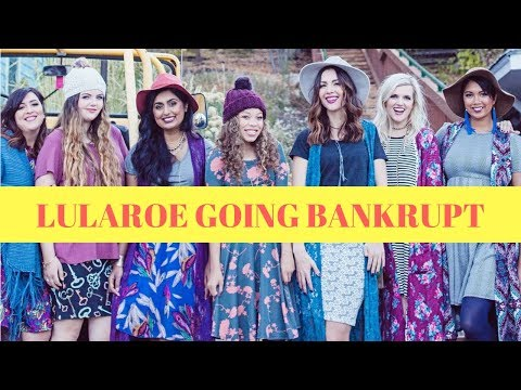 LULAROE going Bankrupt, $1 billion lawsuit, refusing refunds, sellers & exec QUIT