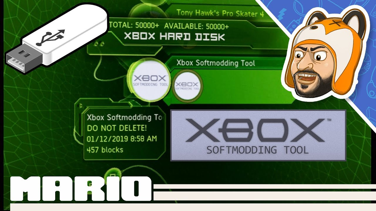 How to Softmod Your Original Xbox with a Flash Drive | Rocky5 Xbox  Softmodding Tool USB Tutorial