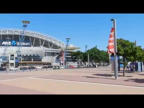 Sydney - City Tours - Sydney Olympic Park 2016 01 11