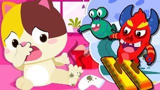 Si lucu Hank | Pentingnya Menjaga Kebersihan | Lagu Anak-anak | Bahasa Indonesia | BabyBus