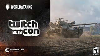 World of Tanks At TwitchCon!