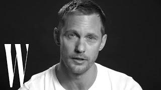 Alexander Skarsgård's First Kiss Made Him Cry | Screen Tests | W magazine