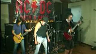 Banda brasileira Dirty Deeds AC/DC Cover - Hard As A Rock http://ww...
