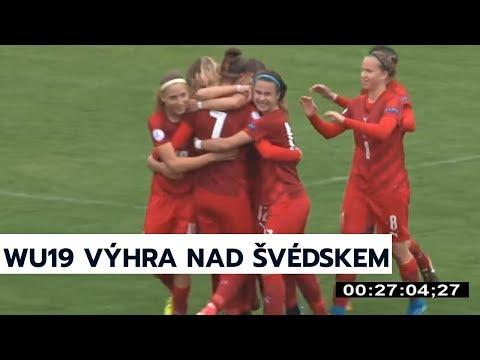 WU19: Česká republika - Švédsko 2:0 (0:0)