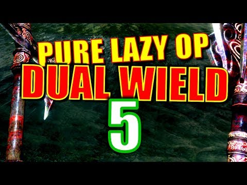 Skyrim Pure Lazy OP Dual Wield Walkthrough Part 5: She's a Witch! (How Do You Know She's a Witch?)