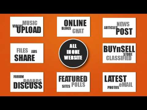 The all in one social and media network