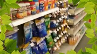 walking tour inside CVS pharmacy, miami beach