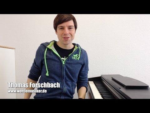 Klavier und Keyboard lernen - Ludwig van Beethoven - Für Elise - Teil 6- Piano Tutorial