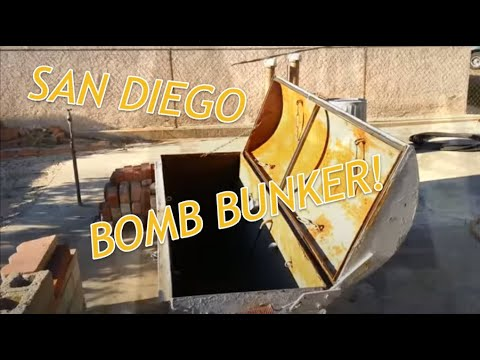 Crazy San Diego Bomb Shelter Bunker In Lemon Grove