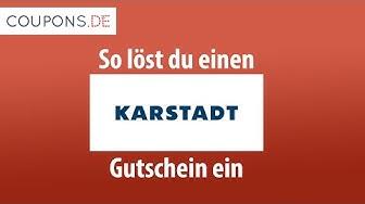 Karstadt Gutschein einlösen – Schritt für Schritt Anleitung