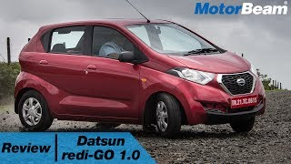 Datsun redi-GO 1.0 Review - #MorePower2You Or Is It? | MotorBeam