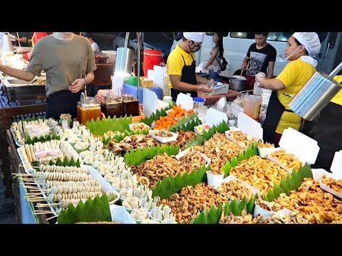 Mind-Blowing STREET FOOD in the PHILIPPINES 2017 | Cheap & Clean PART 1