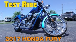 New Motorcycle Unboxing-Test Ride-2017 Honda Fury-Review