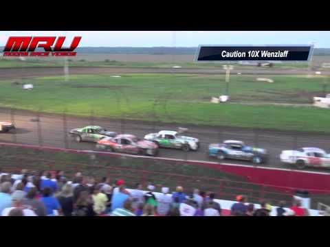 Stock Car Feature at Park Jefferson Speedway on July 12th