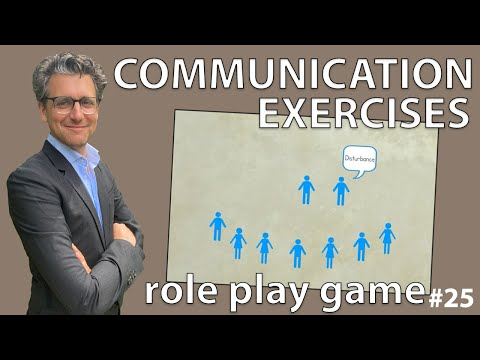 Communication Exercises - Role Play Game #25