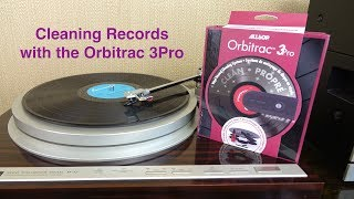 Cleaning Vinyl Records with the Orbitrac 3 Pro