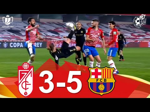 Granada Barcelona Goals And Highlights
