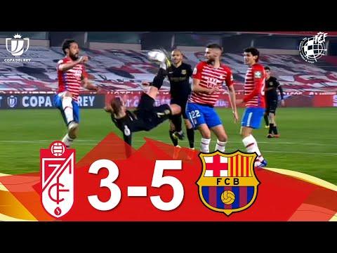 RESUMEN | Granada CF 3-5 FC Barcelona | Cuartos de final de la Copa de SM el Rey