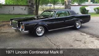 1971 Lincoln Continental Mark III from Rev Up Motors