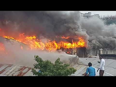 Small fire with Chittagong lost of money 6 crore (salt mill)