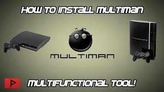 [How To] Install and Use Multiman For Rebug 4.81 CFW Tutorial (2017)