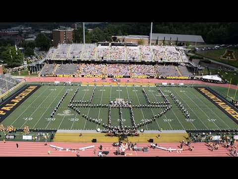 Mountaineer marching band simple gifts for christmas