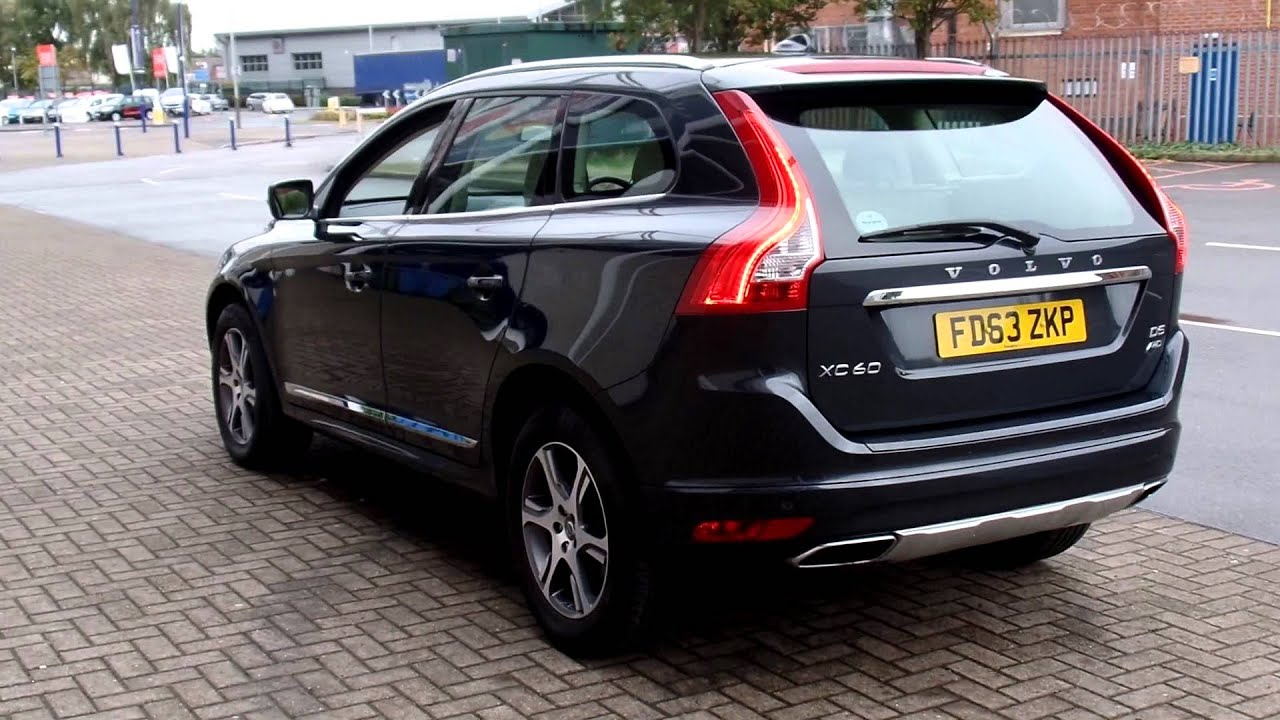 used volvo xc60 d5 se lux nav geartronic fd63zkp youtube. Black Bedroom Furniture Sets. Home Design Ideas