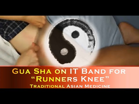 Gua Sha on Tight Thighs - Iliotibial Band Syndrome